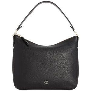 NEW Kate Spade New York Polly Shoulder Bag Black